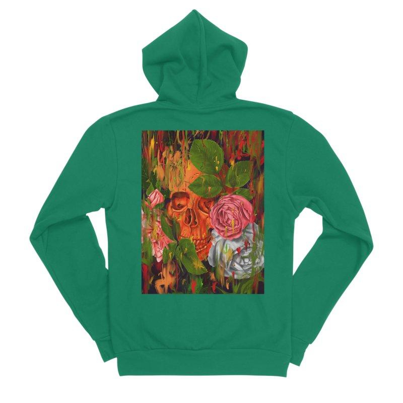 Colors of Death Women's Sponge Fleece Zip-Up Hoody by nicebleed