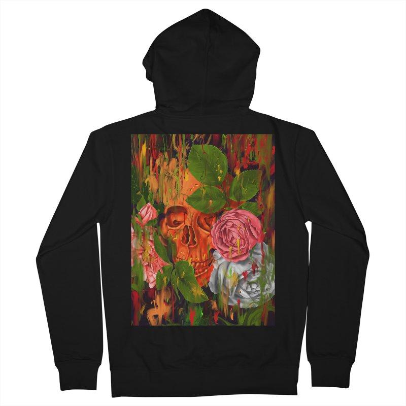 Colors of Death Men's Zip-Up Hoody by nicebleed