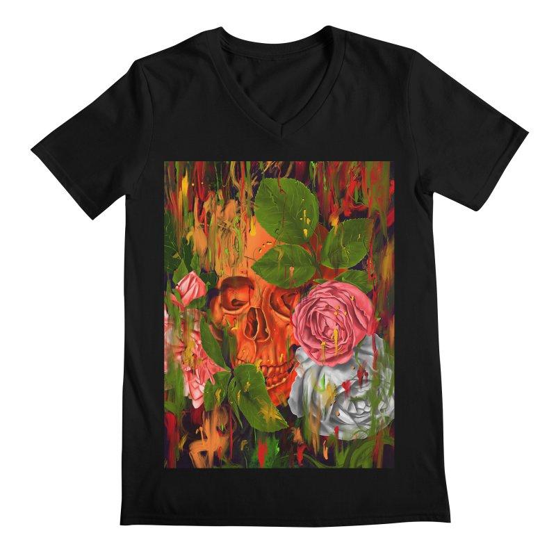 Colors of Death Men's V-Neck by nicebleed