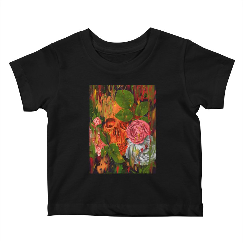 Colors of Death Kids Baby T-Shirt by nicebleed