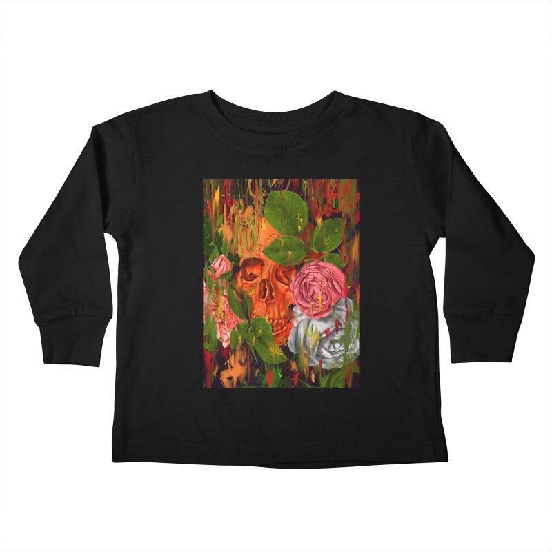Colors of Death Kids Toddler Longsleeve T-Shirt by nicebleed