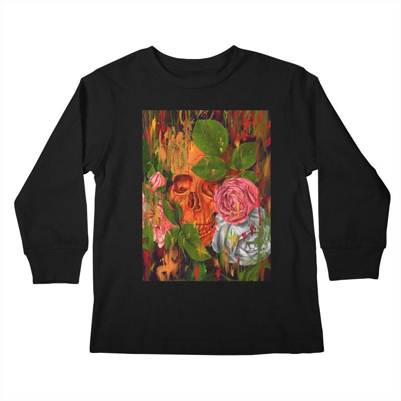 Colors of Death Kids Longsleeve T-Shirt by nicebleed