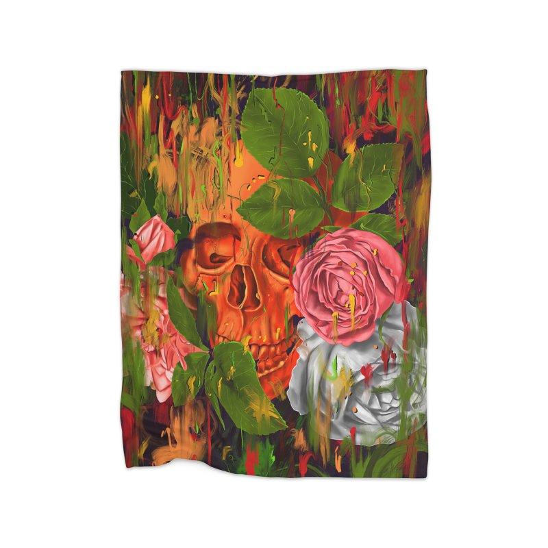 Colors of Death Home Blanket by nicebleed