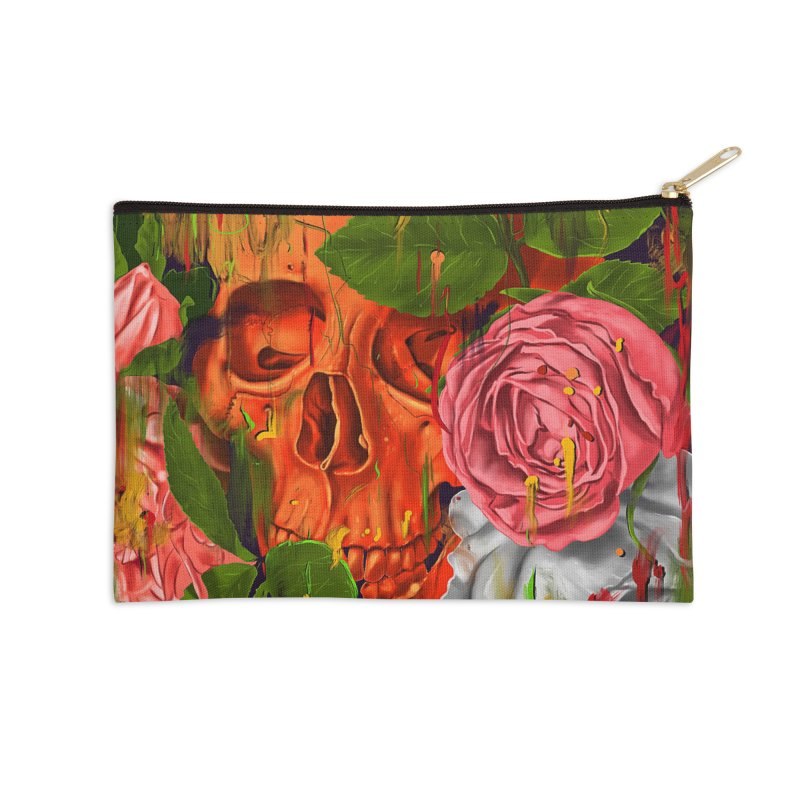 Colors of Death Accessories Zip Pouch by nicebleed