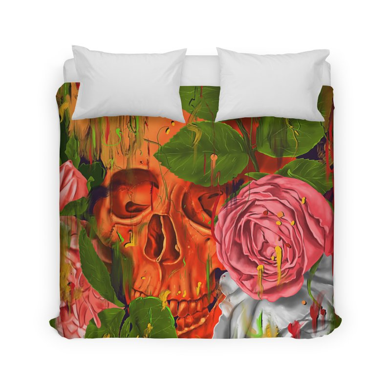 Colors of Death Home Duvet by nicebleed