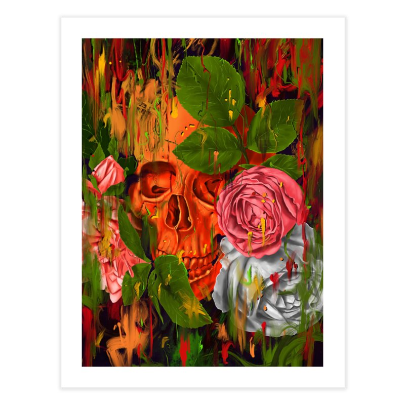 Colors of Death Home Fine Art Print by nicebleed