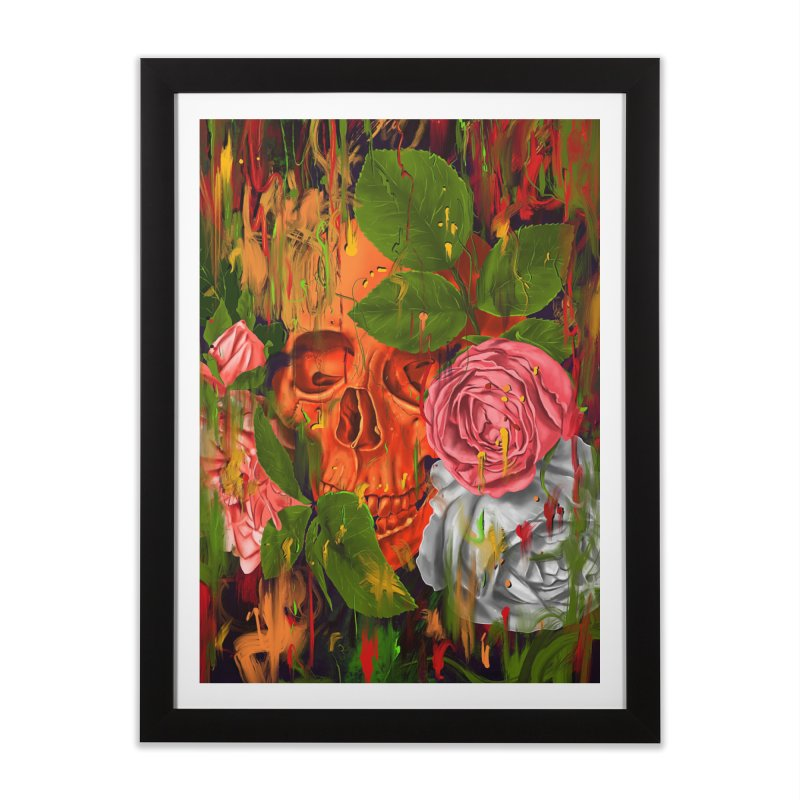 Colors of Death Home Framed Fine Art Print by nicebleed