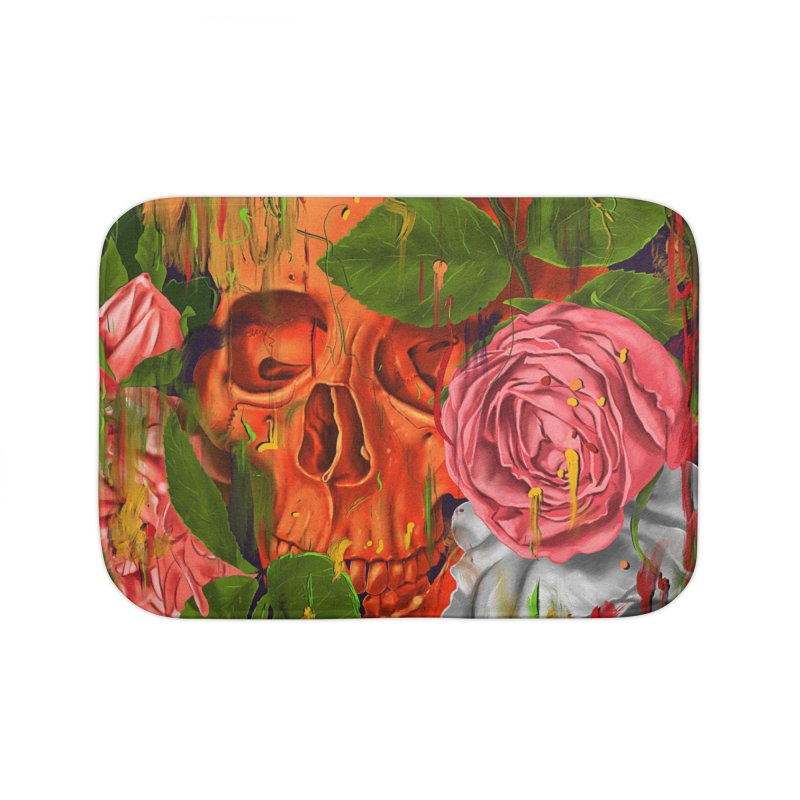 Colors of Death Home Bath Mat by nicebleed