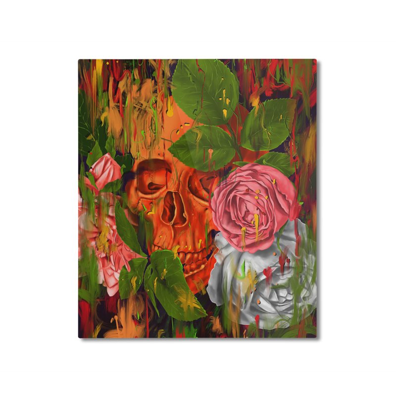 Colors of Death Home Mounted Aluminum Print by nicebleed