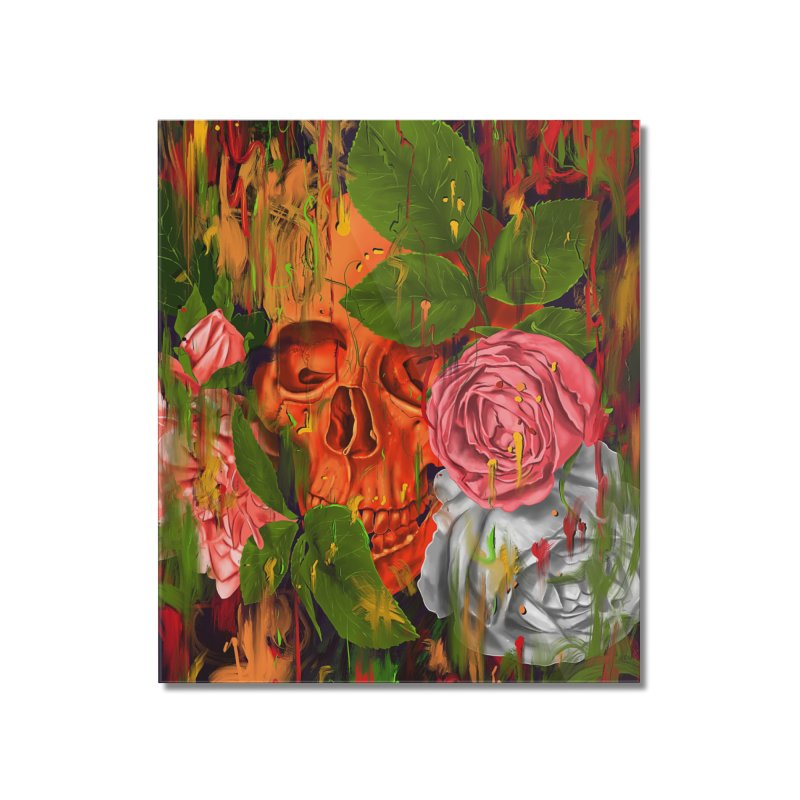 Colors of Death Home Mounted Acrylic Print by nicebleed