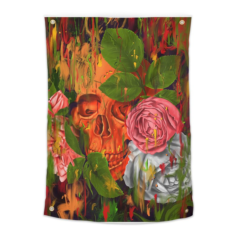Colors of Death Home Tapestry by nicebleed