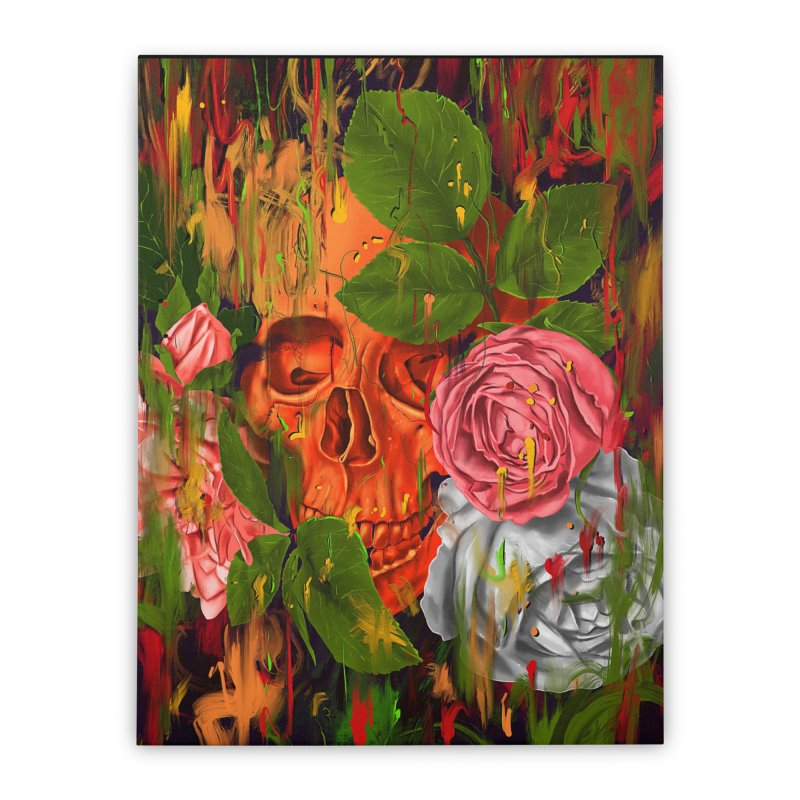 Colors of Death Home Stretched Canvas by nicebleed