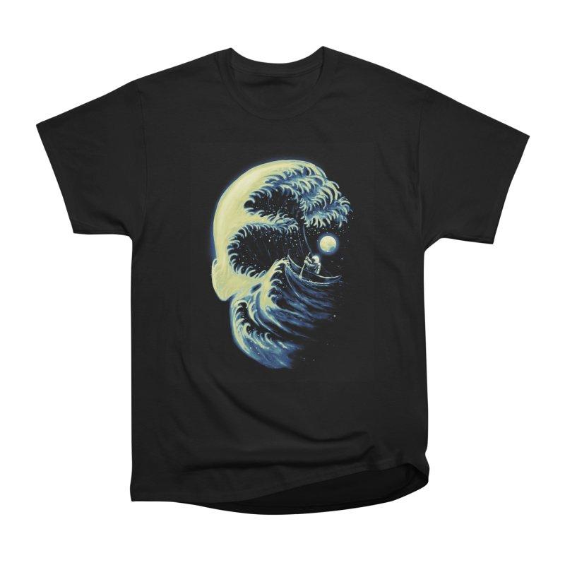Death Wave Women's Heavyweight Unisex T-Shirt by nicebleed