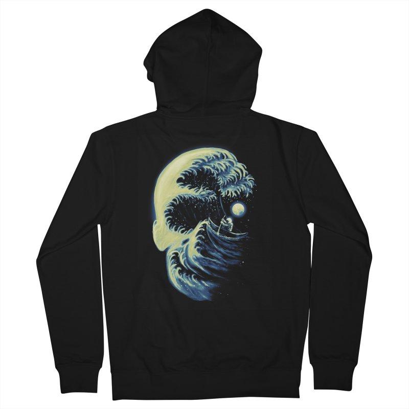 Death Wave Men's Zip-Up Hoody by nicebleed