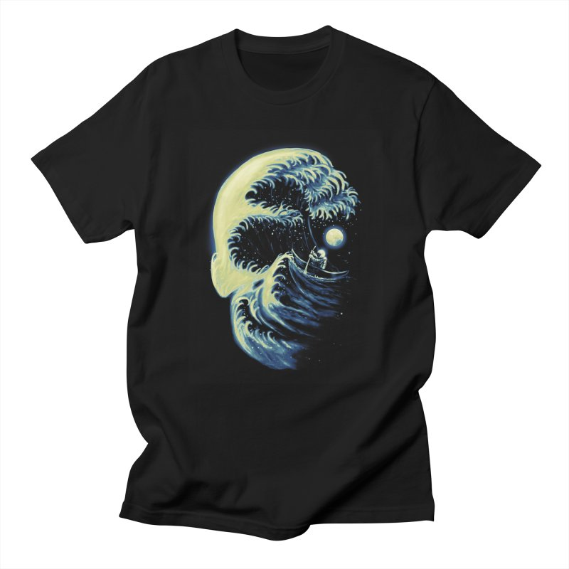 Death Wave Men's T-Shirt by nicebleed