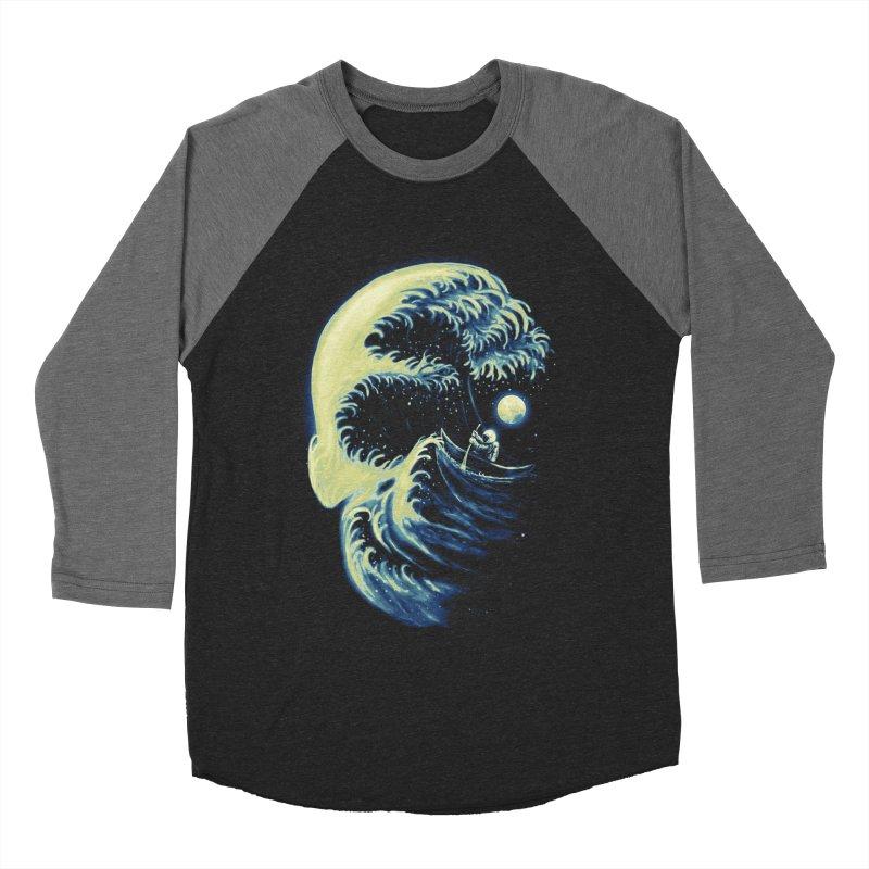 Death Wave Men's Baseball Triblend T-Shirt by nicebleed