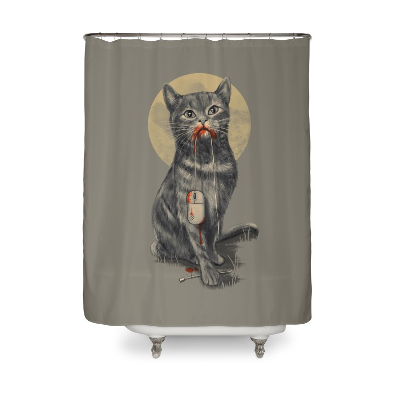 The Catch Home Shower Curtain by nicebleed
