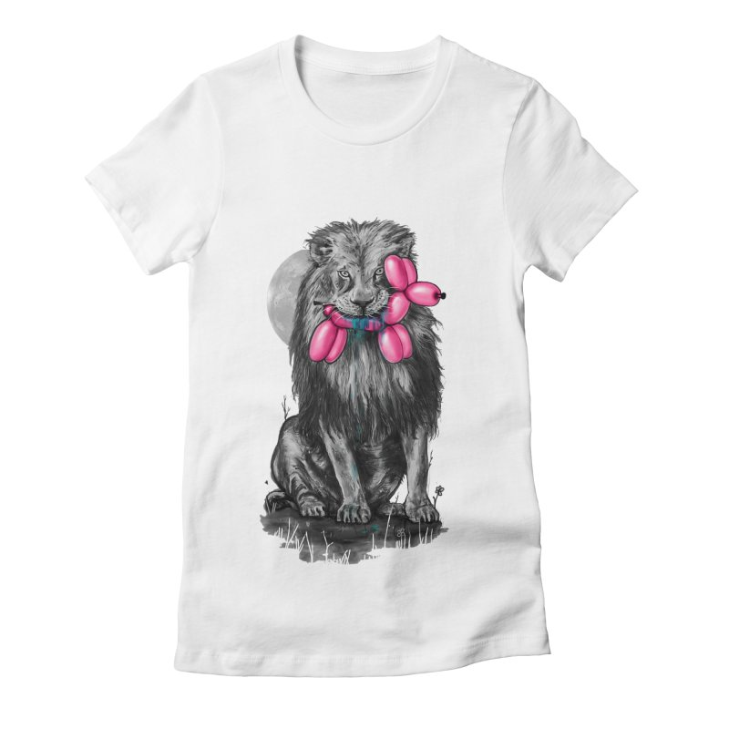 The Catch II Women's Fitted T-Shirt by nicebleed