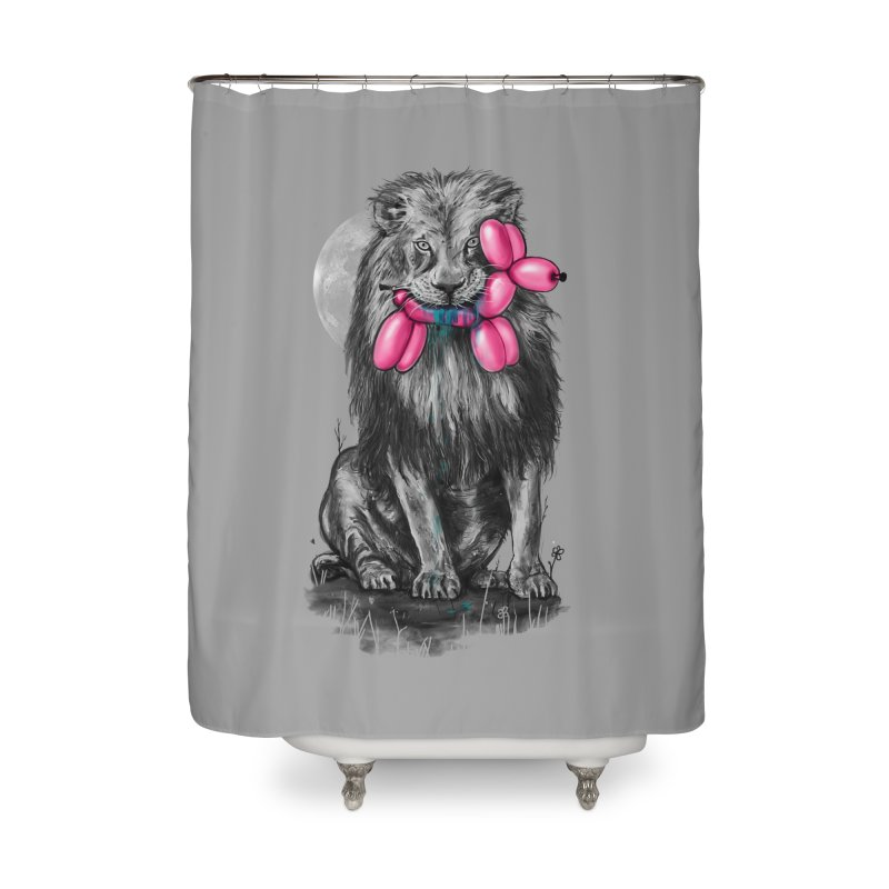 The Catch II Home Shower Curtain by nicebleed