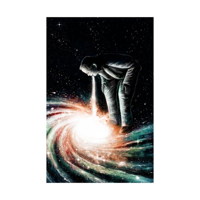 Cosmic Vomit Home Fine Art Print by nicebleed