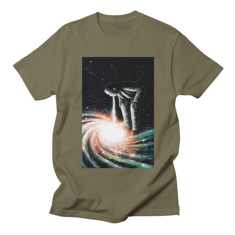 Cosmic Vomit Men's T-Shirt by nicebleed