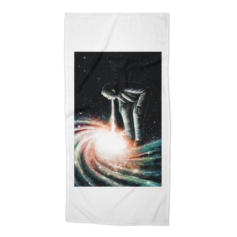 Cosmic Vomit Accessories Beach Towel by nicebleed