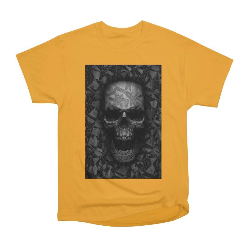 Geometric Skull Men's Heavyweight T-Shirt by nicebleed
