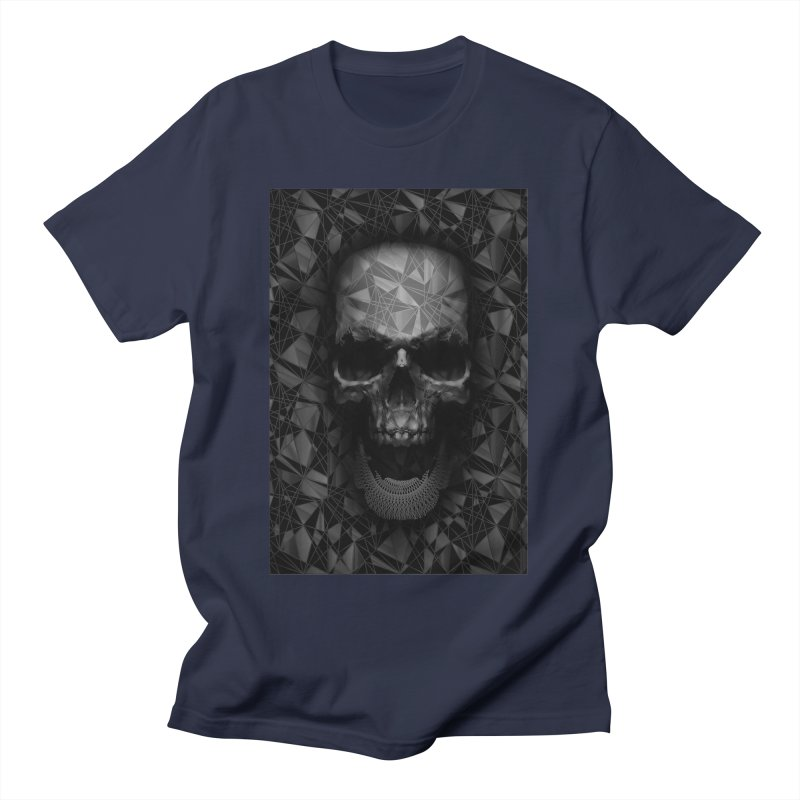 Geometric Skull Women's Regular Unisex T-Shirt by nicebleed