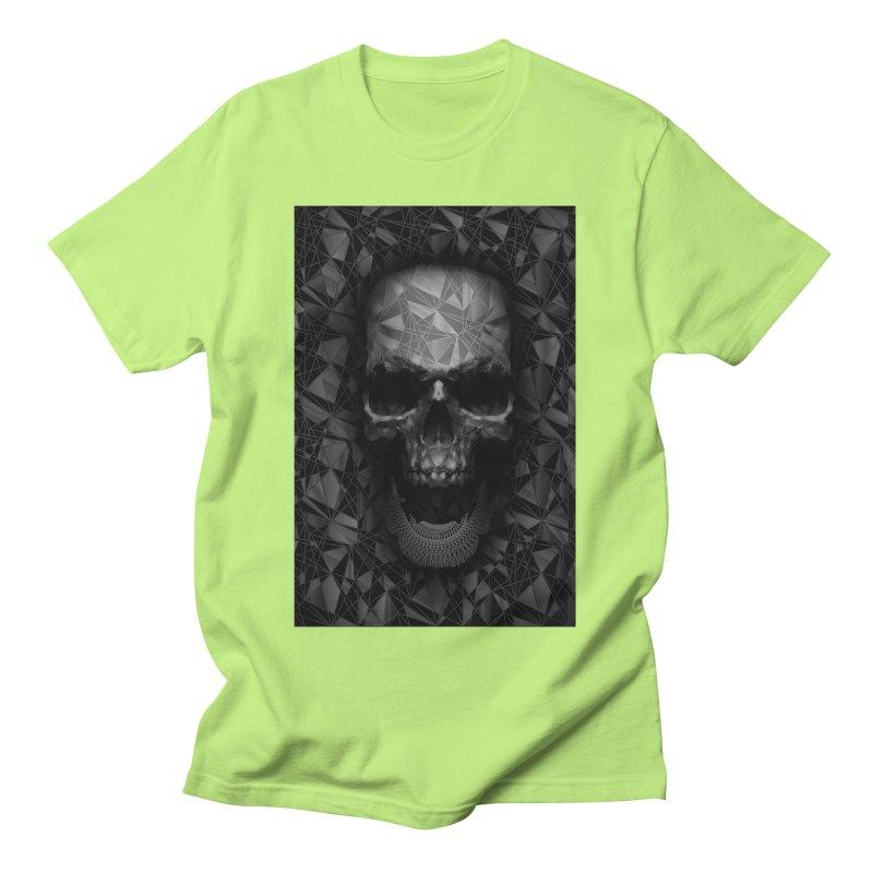 Geometric Skull Men's T-Shirt by nicebleed
