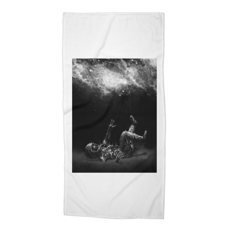 Far-Off Accessories Beach Towel by nicebleed