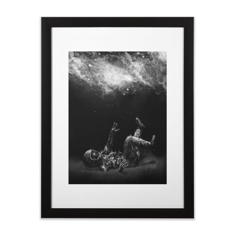 Far-Off Home Framed Fine Art Print by nicebleed