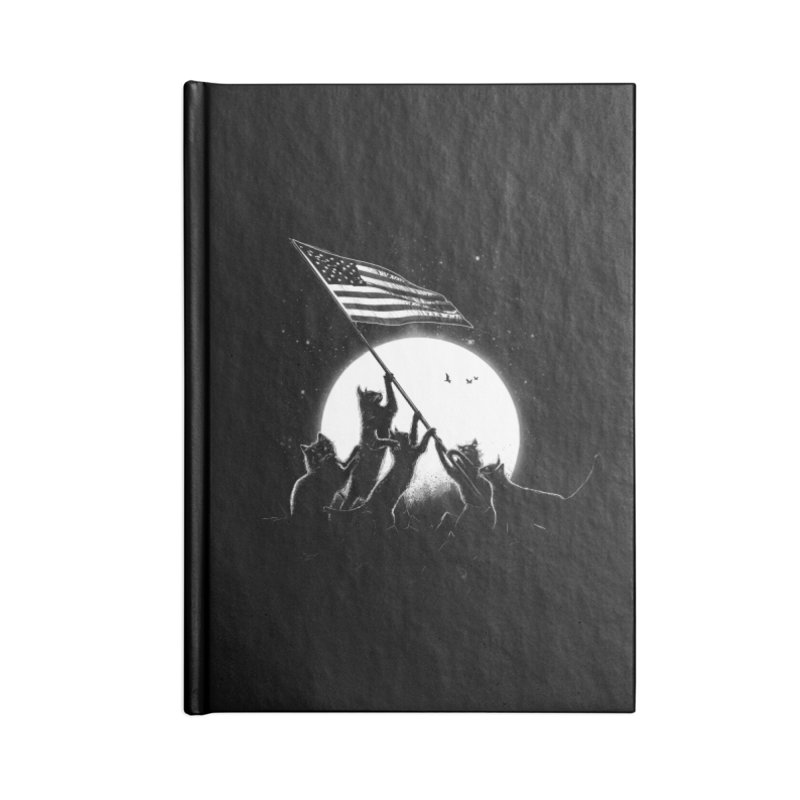 Freedom Cats American Flag Accessories Notebook by nicebleed