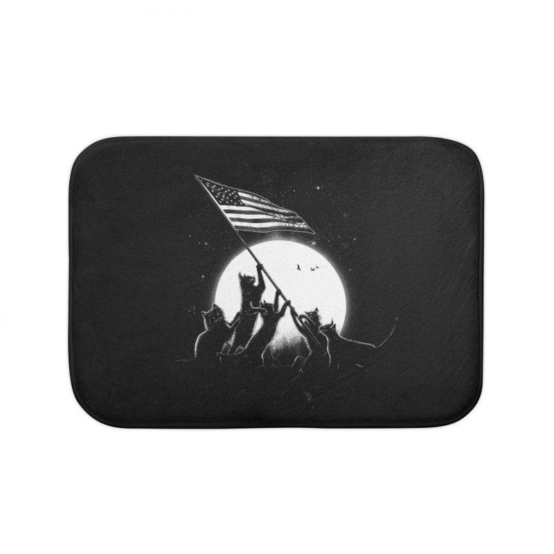 Freedom Cats American Flag Home Bath Mat by nicebleed