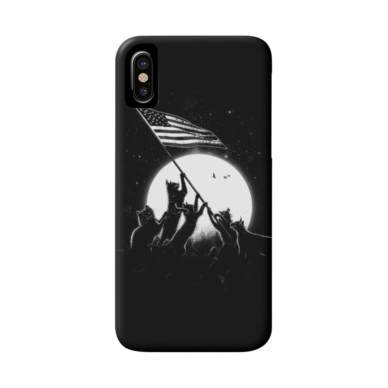 Freedom Cats American Flag Accessories Phone Case by nicebleed
