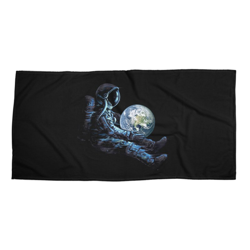 Earth Play Accessories Beach Towel by nicebleed