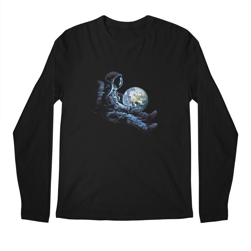 Earth Play Men's Regular Longsleeve T-Shirt by nicebleed