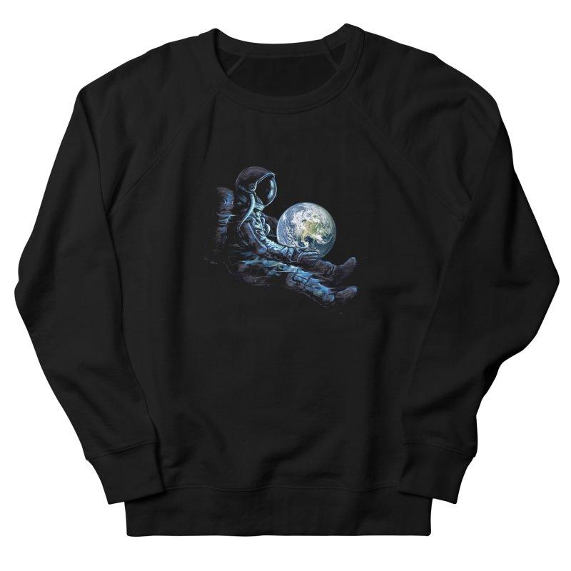 Earth Play Men's French Terry Sweatshirt by nicebleed