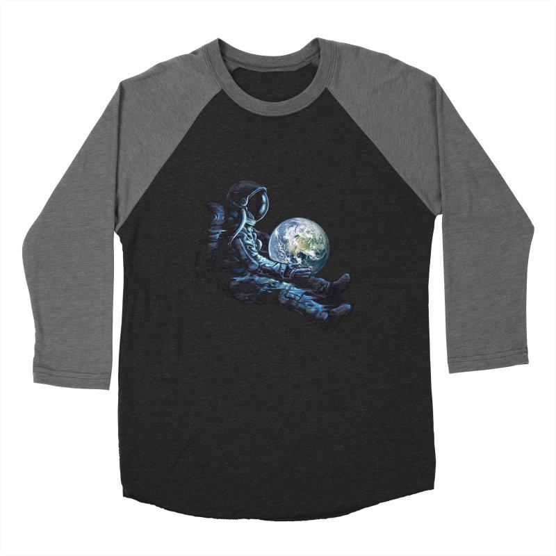 Earth Play Men's Baseball Triblend Longsleeve T-Shirt by nicebleed