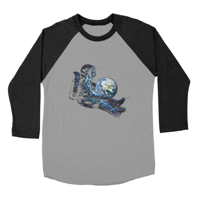 Earth Play Men's Baseball Triblend T-Shirt by nicebleed