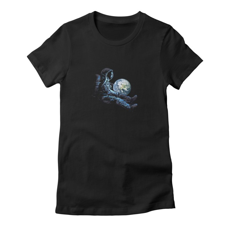 Earth Play Women's Fitted T-Shirt by nicebleed
