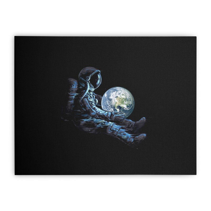 Earth Play Home Stretched Canvas by nicebleed