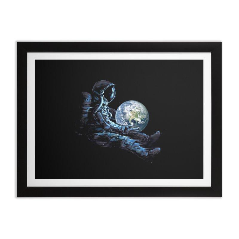 Earth Play Home Framed Fine Art Print by nicebleed