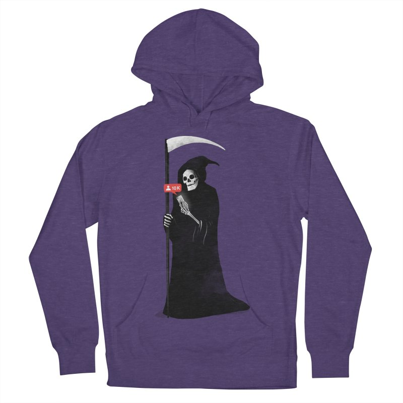 Death's Followers Everyday Women's French Terry Pullover Hoody by nicebleed