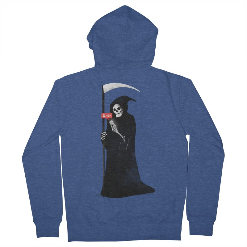Death's Followers Everyday Women's French Terry Zip-Up Hoody by nicebleed