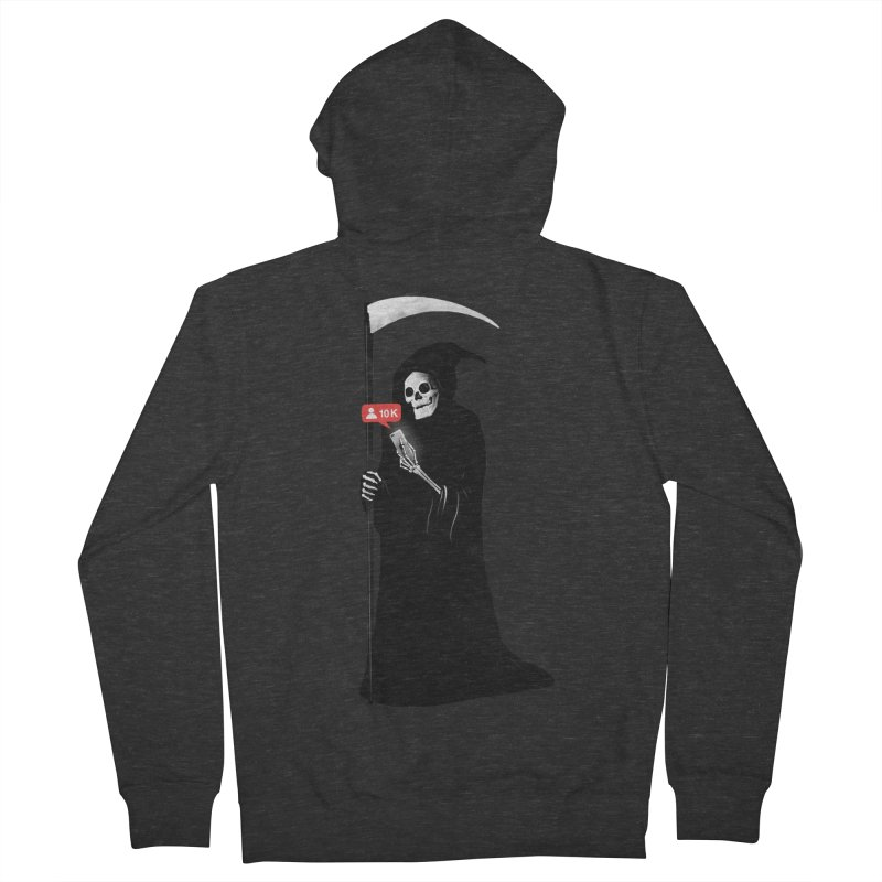 Death's Followers Everyday Men's French Terry Zip-Up Hoody by nicebleed