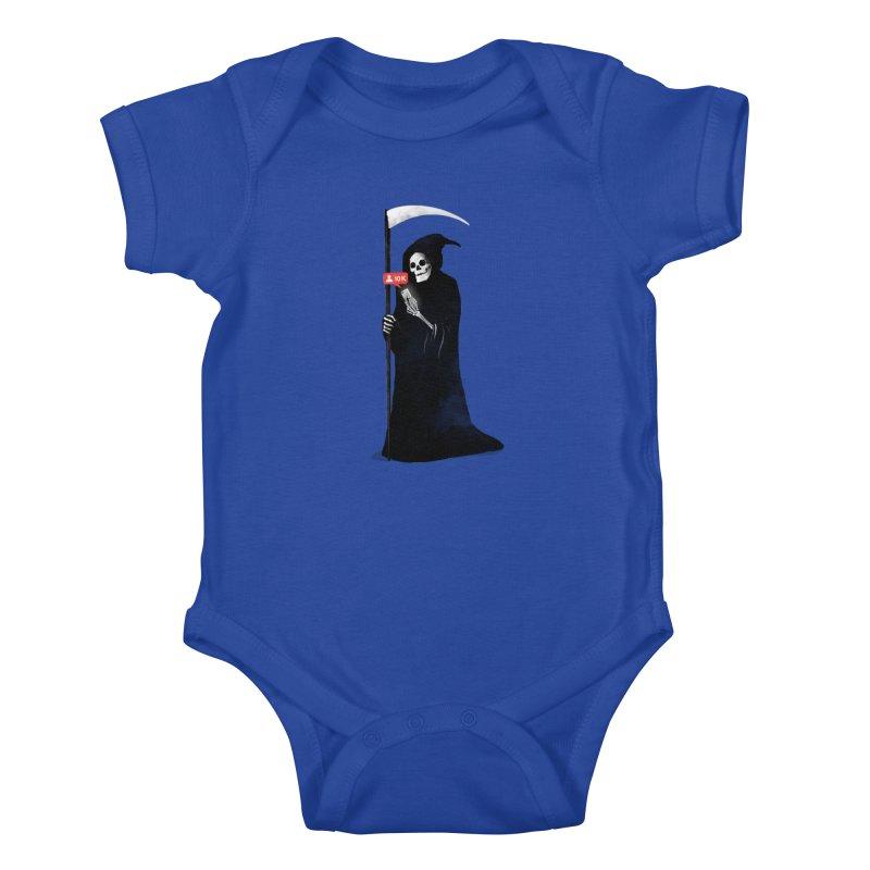 Death's Followers Everyday Kids Baby Bodysuit by nicebleed