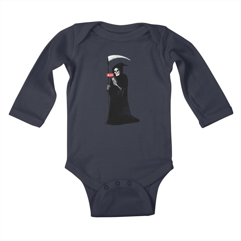 Death's Followers Everyday Kids Baby Longsleeve Bodysuit by nicebleed