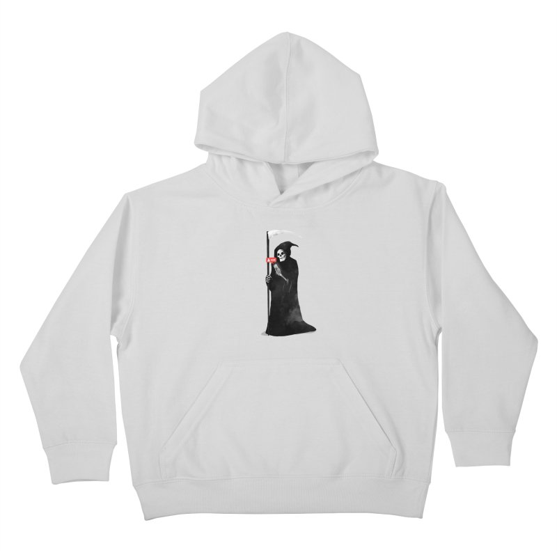Death's Followers Everyday Kids Pullover Hoody by nicebleed