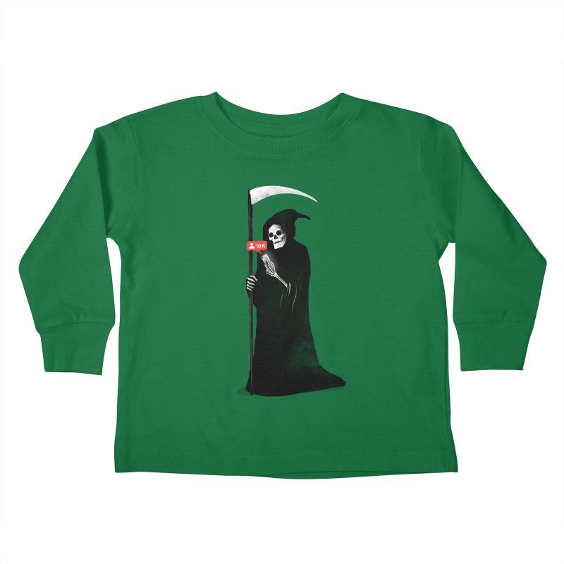 Death's Followers Everyday Kids Toddler Longsleeve T-Shirt by nicebleed