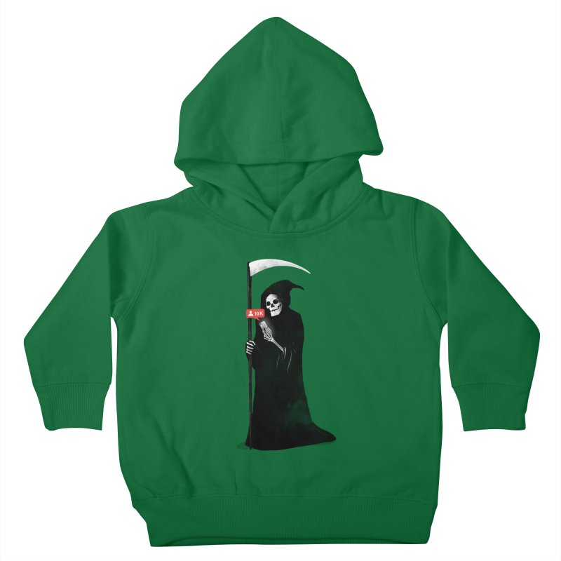 Death's Followers Everyday Kids Toddler Pullover Hoody by nicebleed